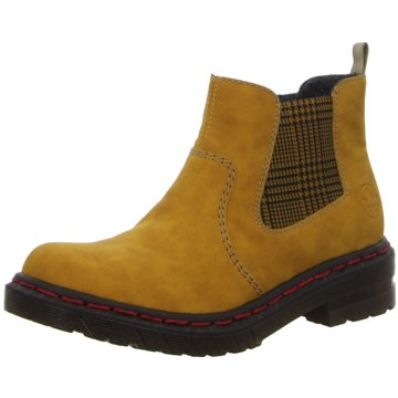 Rieker Komfort Stiefelette3 gelb