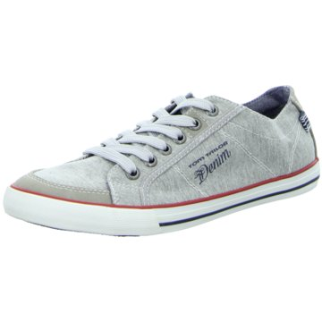 Tom Tailor Sneaker LowWally washed grau