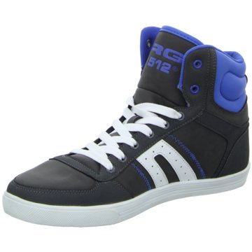 Fight Sneaker High grau