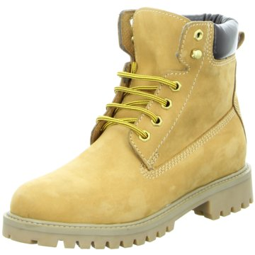 Montega Shoes & Boots Schnürboot gelb