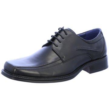 Montega Shoes & Boots Business SchnürschuhRunfalcon schwarz