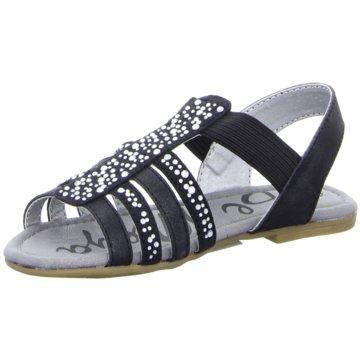 Pep Step Offene Schuhe schwarz