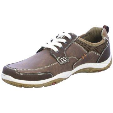 Montega Shoes & Boots Sportlicher Schnürschuh braun