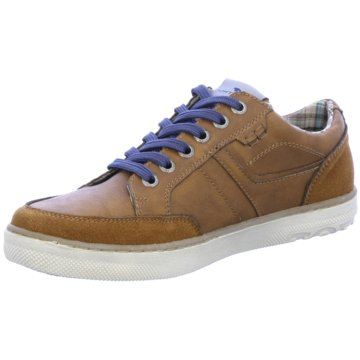Tom Tailor Sneaker Low braun