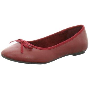 Pep Step Klassischer Ballerina rot