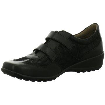 Firence Komfort Slipper schwarz