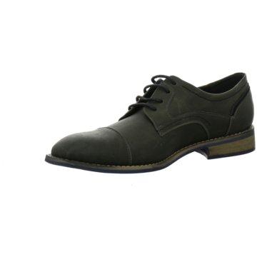 Montega Shoes & Boots Eleganter Schnürschuh grau