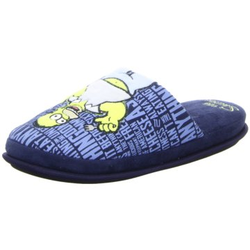 The Simpsons Hausschuh blau