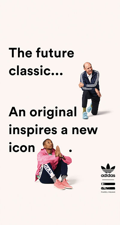 Das beliebte Original erlebt ein cooles Makeover. (Foto: Pharrell Williams x Stan Smith)