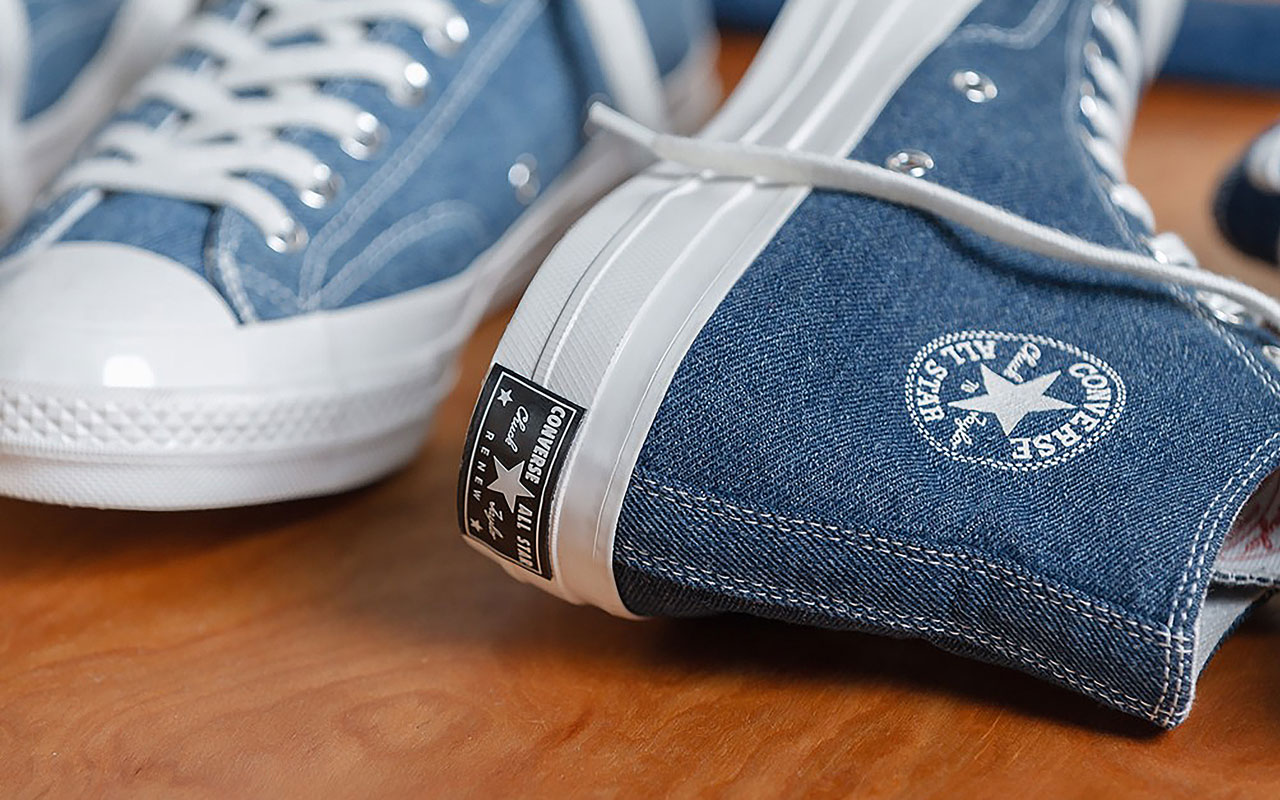 Neu: Converse Denim Kollektion RENEW