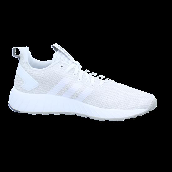 adidas Core Questar Herren Low Sneaker Weiss, Größenauswahl:44