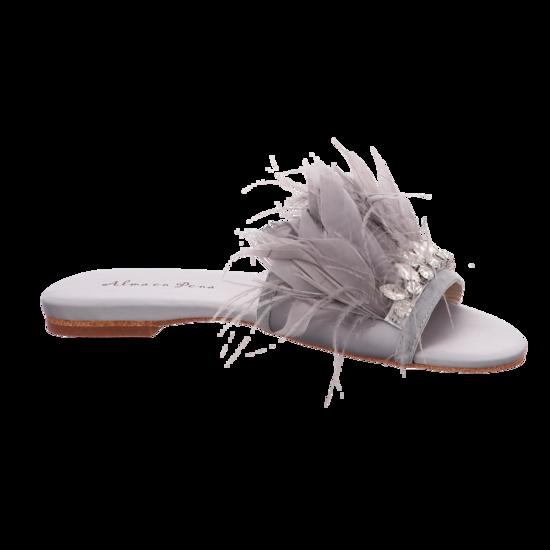 500 satin Grau Grau Grau Klassische Pantoletten von Alma en Pena--Gutes Preis-Leistungs-, es lohnt sich 0e8358