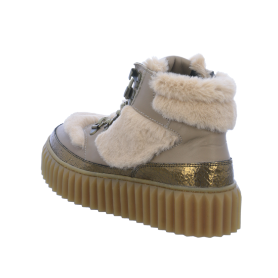 Sneaker High Voile Blanche