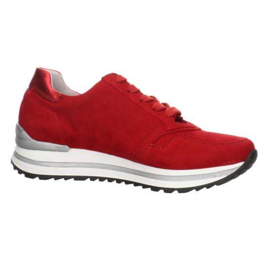 Sportliche Schnürschuhe für Damen von Gabor rot daRcx