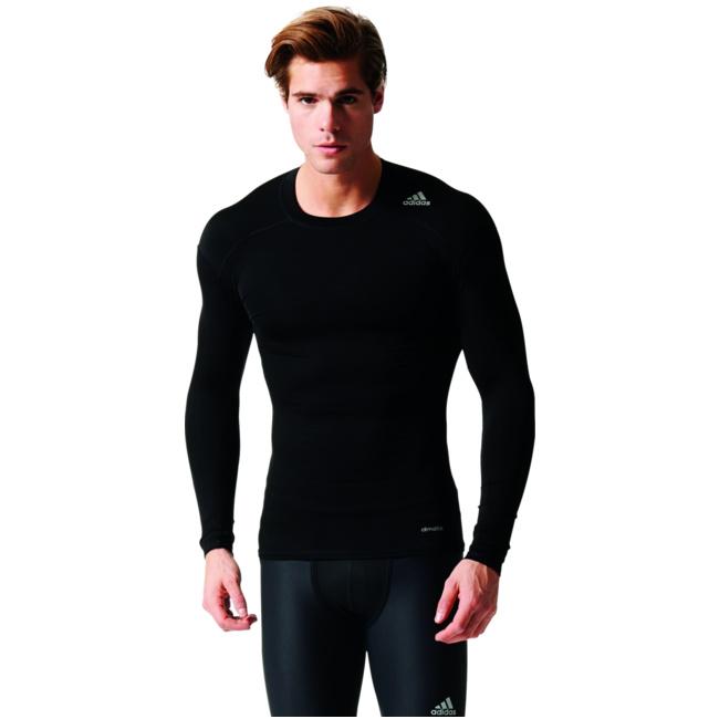 Techfit Base Long Sleeve Herren Trainingsshirt schwarz AJ5016  von adidas--Gutes adidas--Gutes von Preis-Leistungs-, es lohnt sich 76337f