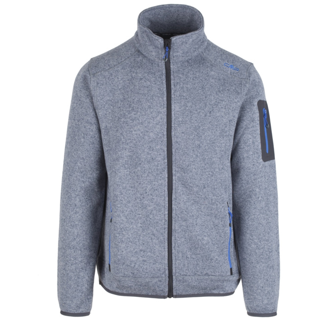cmp herren fleece jacke knitted jacket