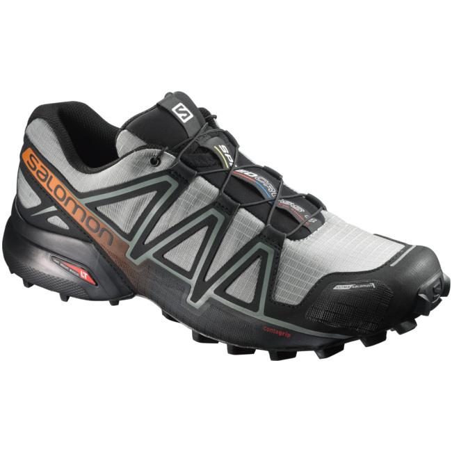 Speedcross 4 CS Herren Laufschuhe Trail Running grau schwarz schwarz schwarz L39843400  von Salomon--Gutes Preis-Leistungs-, es lohnt sich f2f16d