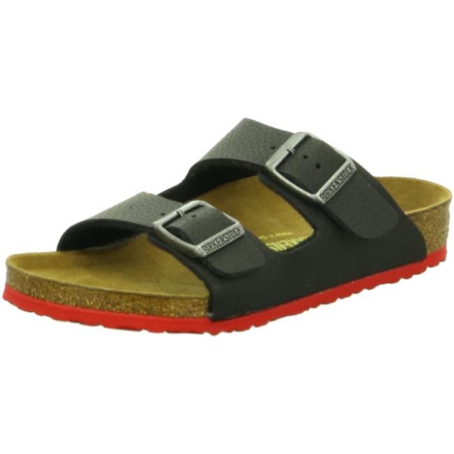 best sneakers a51e9 8612c Birkenstock Arizona schmal Pantoletten