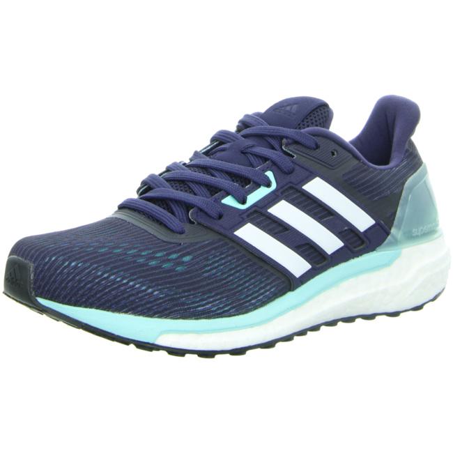 adidas Supernova Damen Laufschuhe Running blau weiß Running